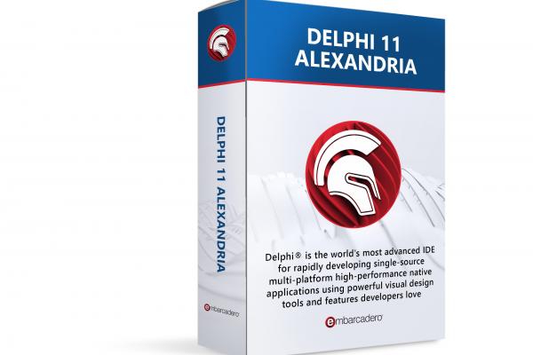 New 2021 version of Embarcadero Delphi 11 Alexandria