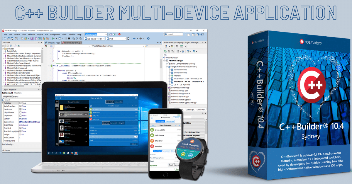 C++ Builder Multi-Device application Romania