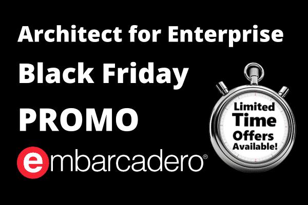 Embarcadero Architect la pret de Enterprise Black Friday Promo 2020 Romania