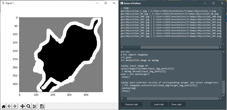 Keras Demo with Python4Delphi in Windows.