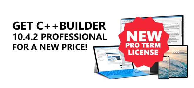 Oferta promotionala IDE C++ Builder Romania subscription anuala