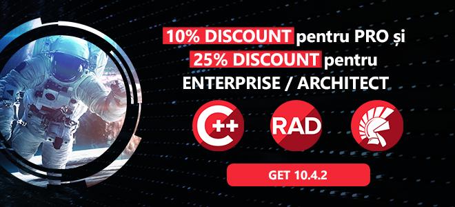 RAD Studio and Interbase promo in Romania 2021