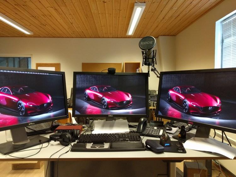 What is it like to be a developer Glenn Dufke? Glenn's Office